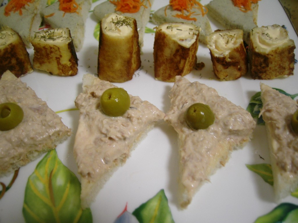 Receta de canap s de at n pictures to pin on pinterest for Canape quotes